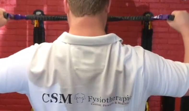 schouderklachten fysiotherapie schouders facepulls