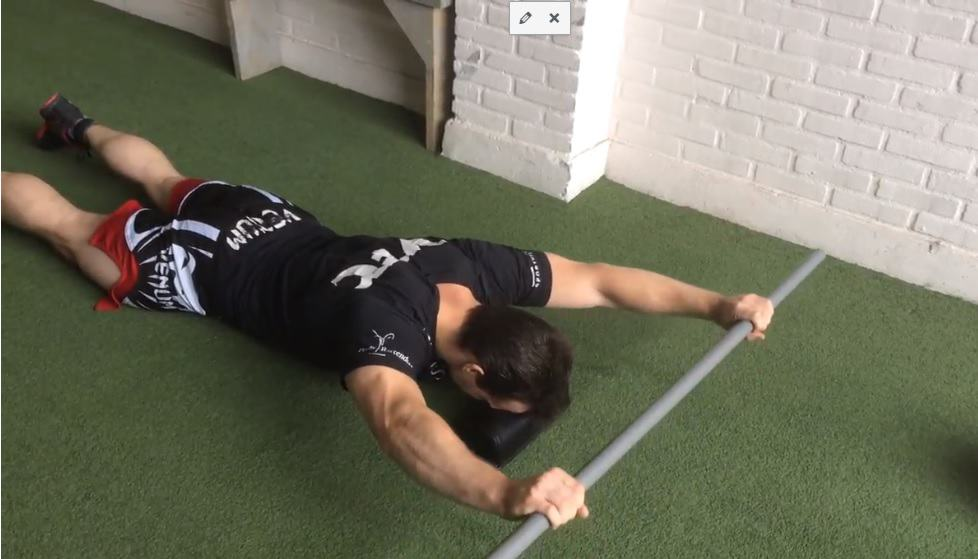 lower traps, prone y raise schouderklachten