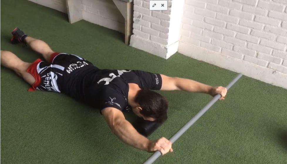 lower traps, prone y raise schouderklachten