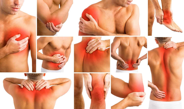 schouderpijn kniepijn nekpijn rugpijn fysiotherapie