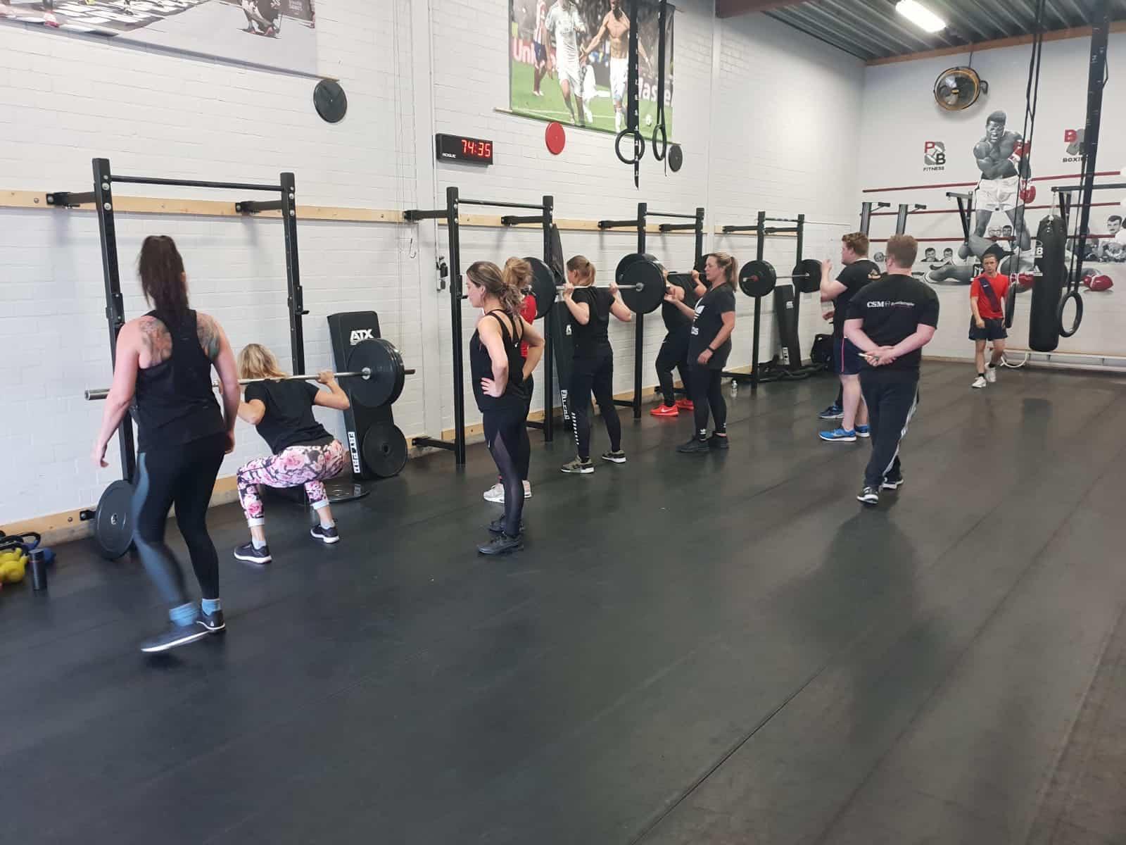 CSM Fysiotherapie squat
