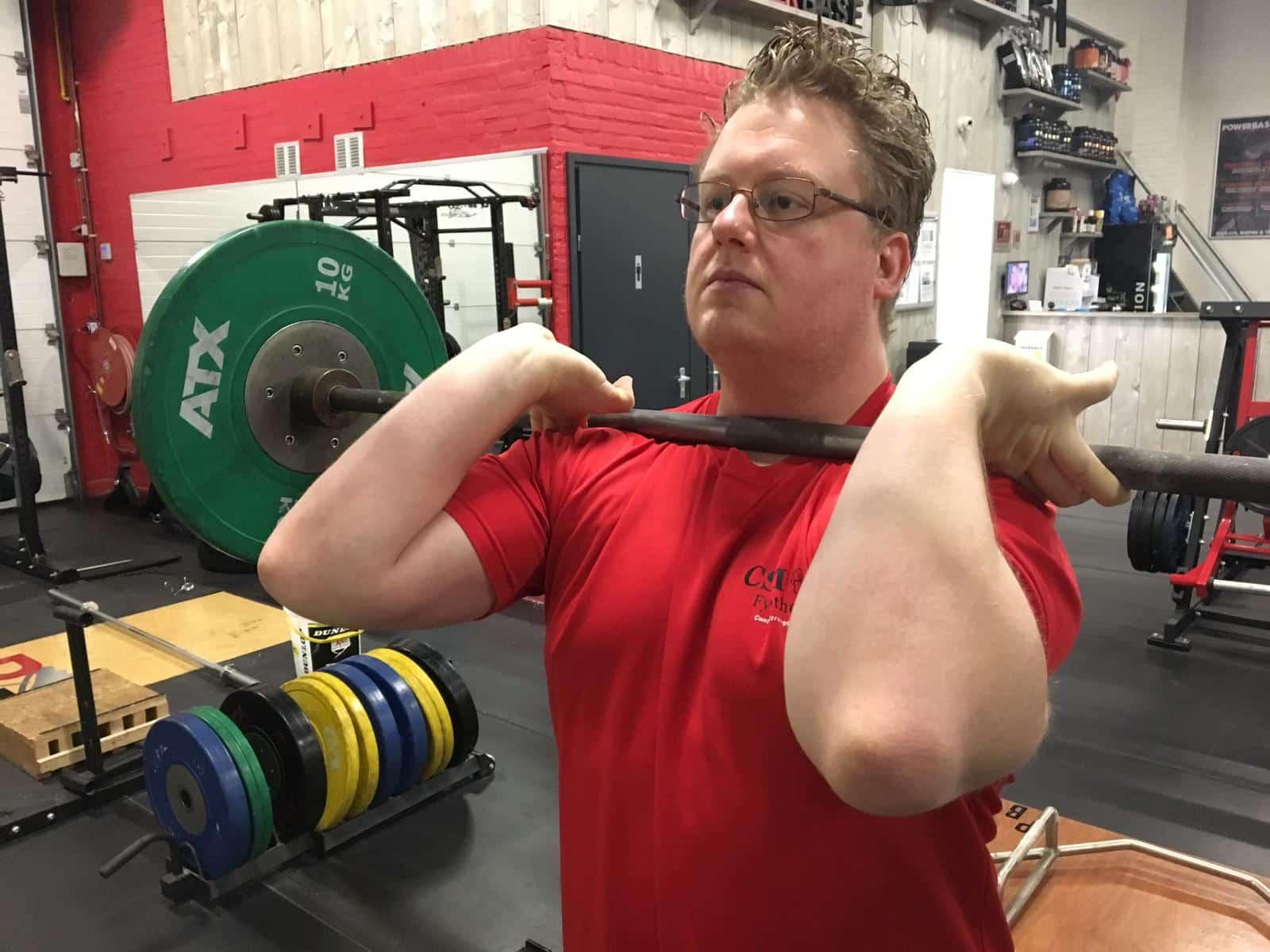 Front squatg csm fysiotherapie