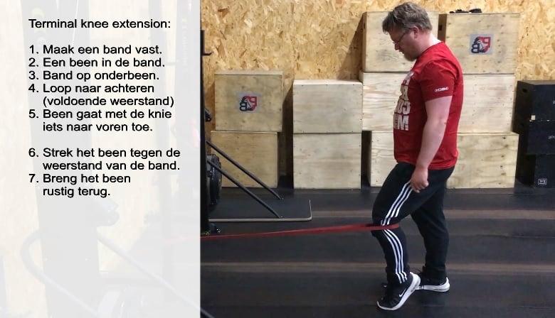 CSM Fysiotherapie Best knie oefening